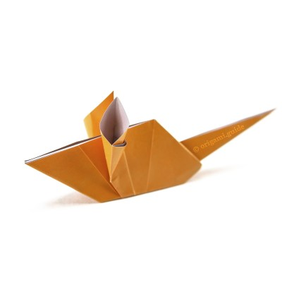 How To Make An Origami Mouse