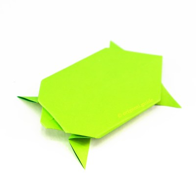 How To Make An Easy Origami Turtle