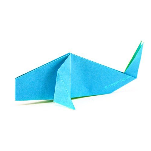 How To Make An Origami Narwhal