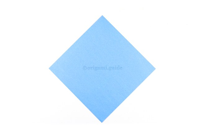 This is the back of your paper, you will see this colour on the inside of the lily.