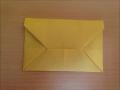折り紙の封筒 簡単な折り方