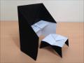 折り紙のピアノの椅子 簡単な折り方