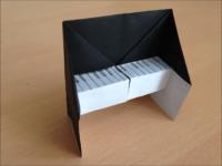 折り紙のピアノ 簡単な折り方