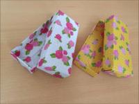 折り紙 長方形の箱 フタ付き 簡単な折り方