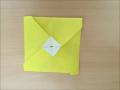 折り紙のお年玉袋(ぽち袋)簡単な折り方