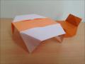折り紙のテーブル2 簡単な折り方