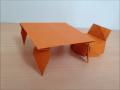 折り紙のテーブル 簡単な折り方