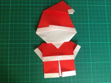 クリスマス 折り紙 サンタ 折り紙 立体 : origami1.net