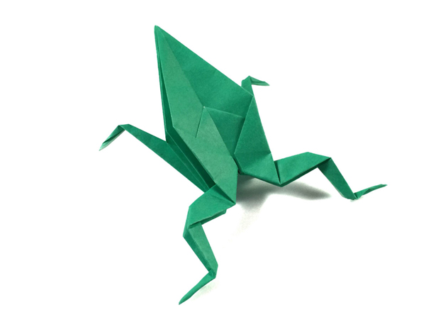 Simple Origami Frog Origami Expressions