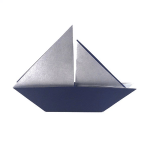 Traditional Origami Sailboat