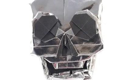 Origami Skull, by Quentin Trollip