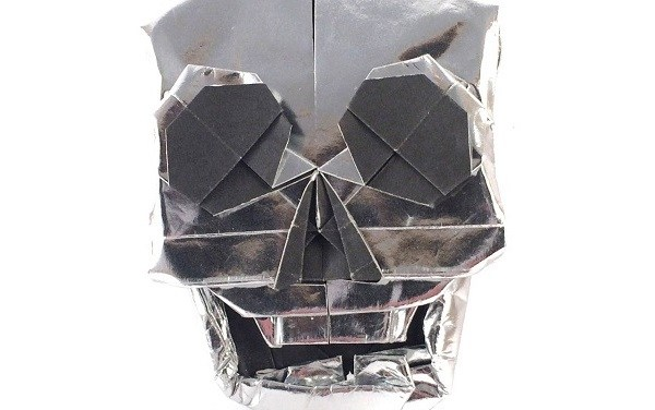 Origami Skull, by Quentin Trollip