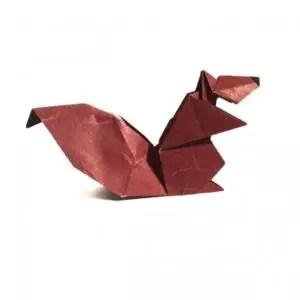Komatsu-Origami Squirrel