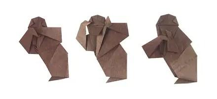 Happy Year of the Origami Monkey!