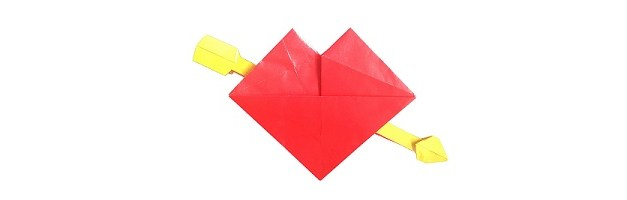 Be my Origami Valentine!