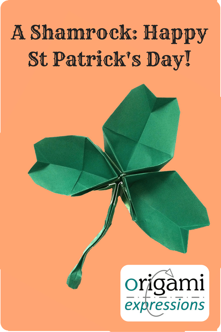 A review of Leyla Torres's origami Shamrock design that I folded to mark St Patrick's Day. Includes what it's like to fold, and where to get the instructions.