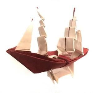 Full-rigged ship