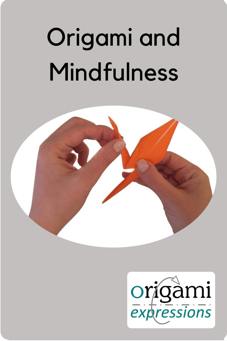 A page about origami and mindfulness. The benefits of origami, and how to integrate origami into mindfulness practice.