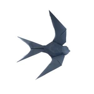 Gen Hagiwara's Origami Swallow