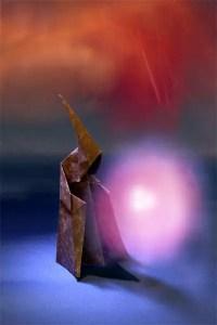 Dark Wizard, one of the models in Paul Hanson's book