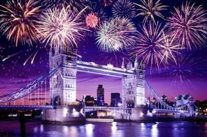 """Fireworks over London """"Origami Guy Fawkes Mask"""" origamiexpressions.com"""