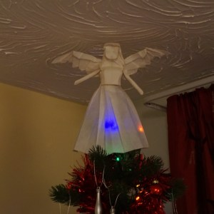 An Origami Angel to Top your Christmas Tree! - Origami Expressions