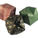 Origami Waterbombs make good Christmas Decorations