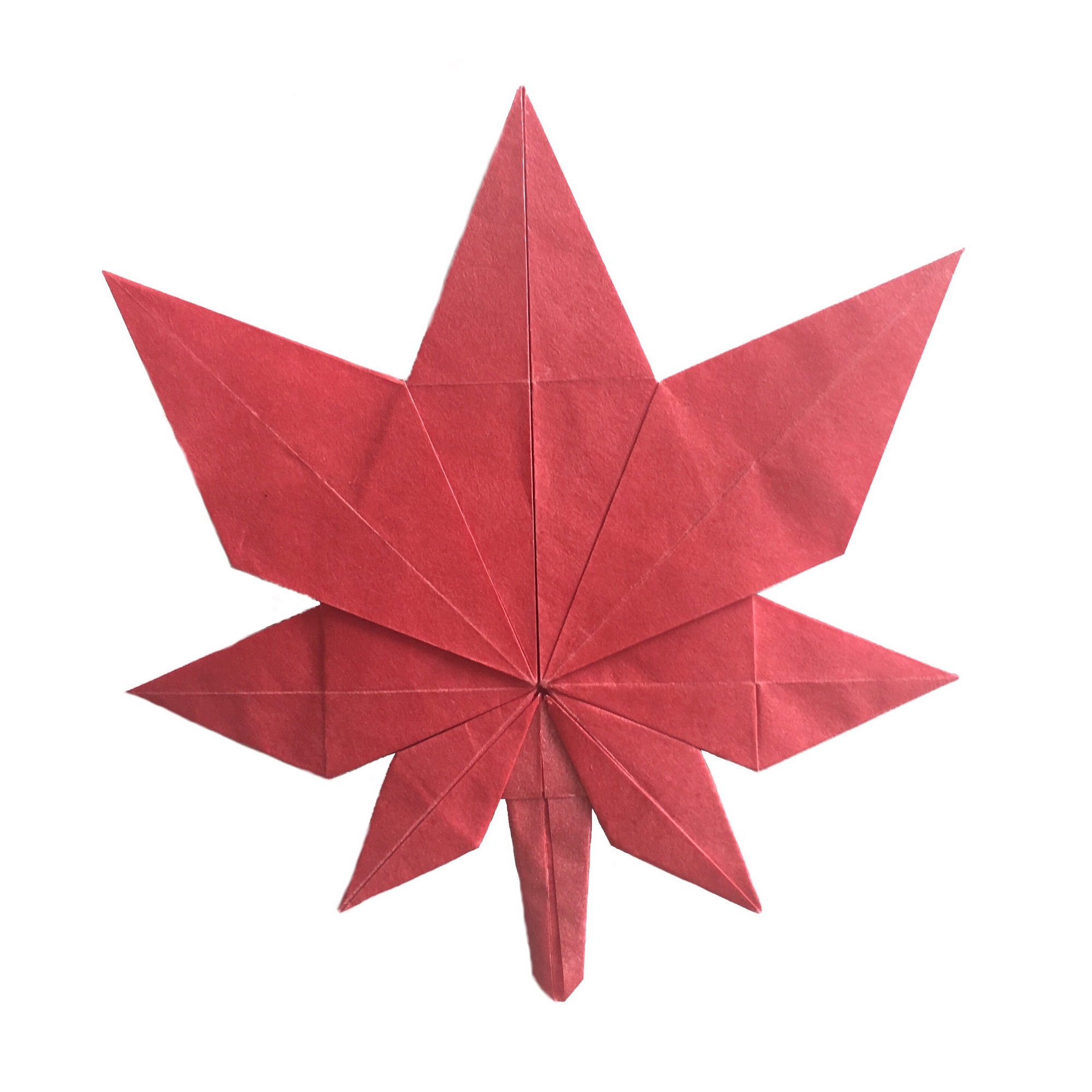 Fold An Origami Maple Leaf for Canada's Birthday ... - photo#7