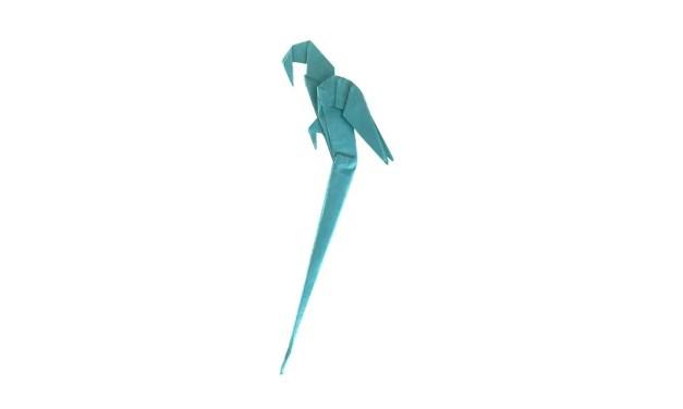 Origami Macaw