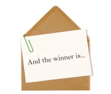 The Halloween Giveaway Winner is…