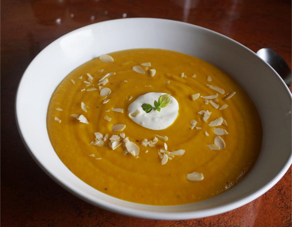 Przepis na imbirową zupę krem z dyni