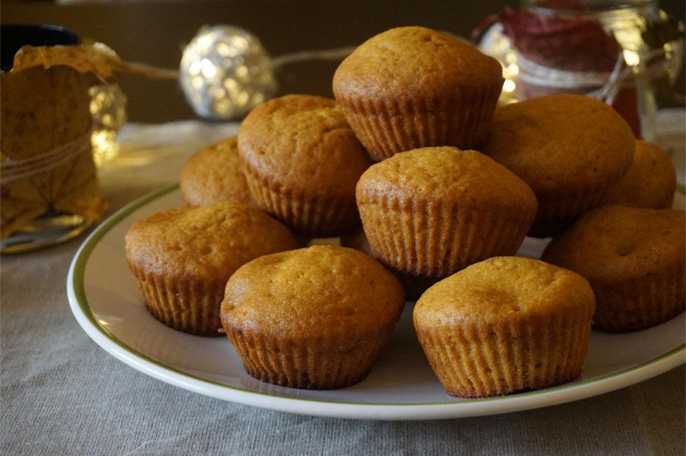 Przepis na proste muffiny z dyni / babeczki dyniowe