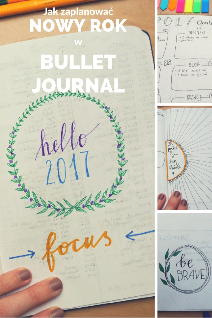 Jak zaplanować nowy rok z bullet journal // New Year planning with BuJo