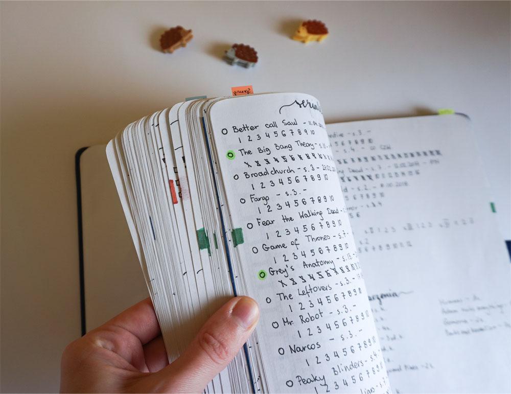 Przydatne hacki do bullet journal