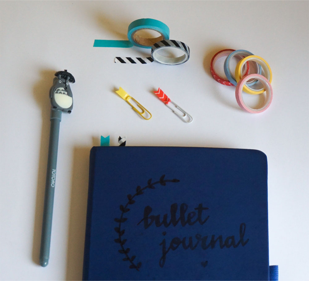 Przydatne hacki do bullet journal