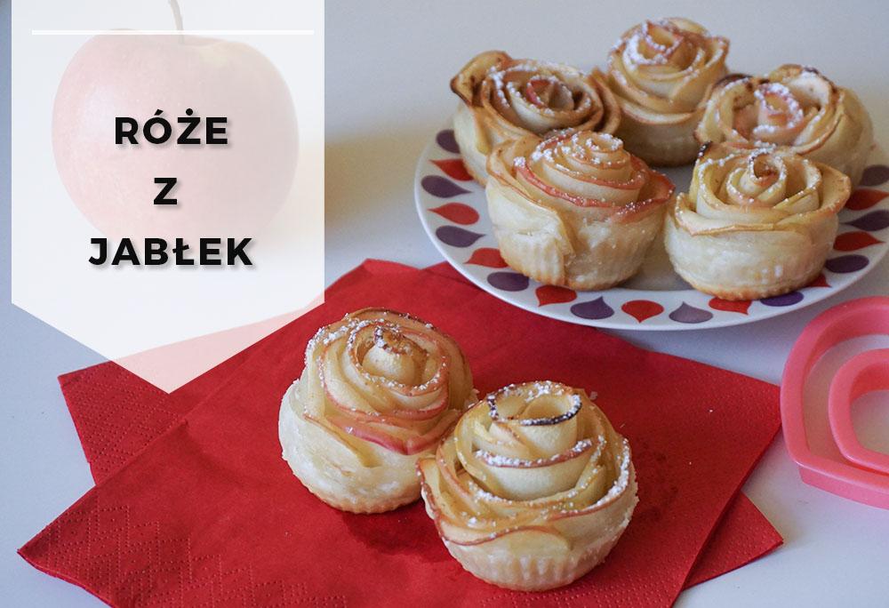Romantyczny deser – Róże z jabłek