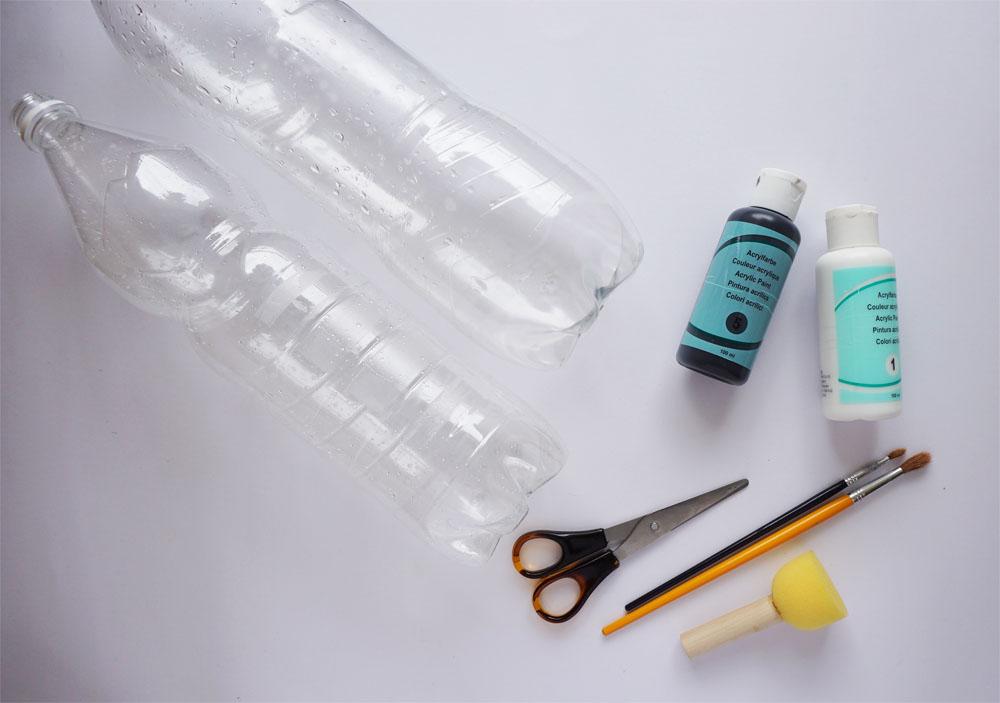 DIY Zrób to sam Doniczka z plastikowej butelki
