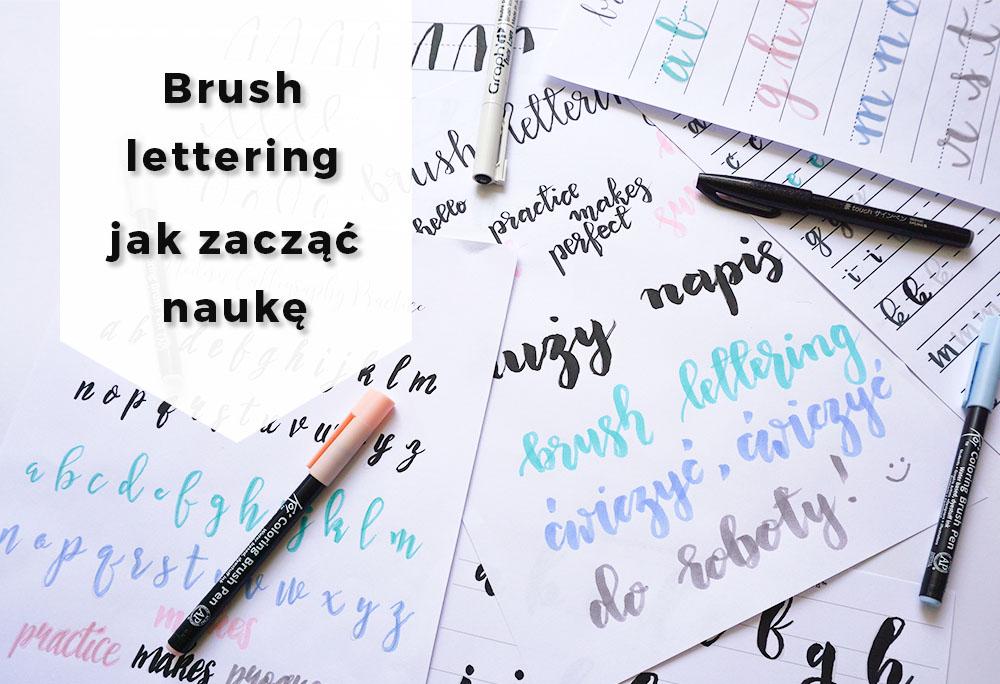 Brush lettering co to jest i jak zacząć naukę