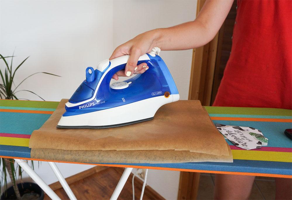 Laminowanie bez laminatora - laminowanie żelazkiem