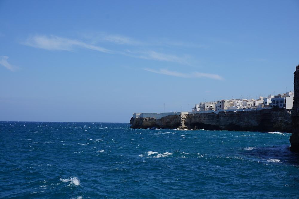 Zwiedzanie Apulii - co trzeba zobaczyć - Polignano a Mare