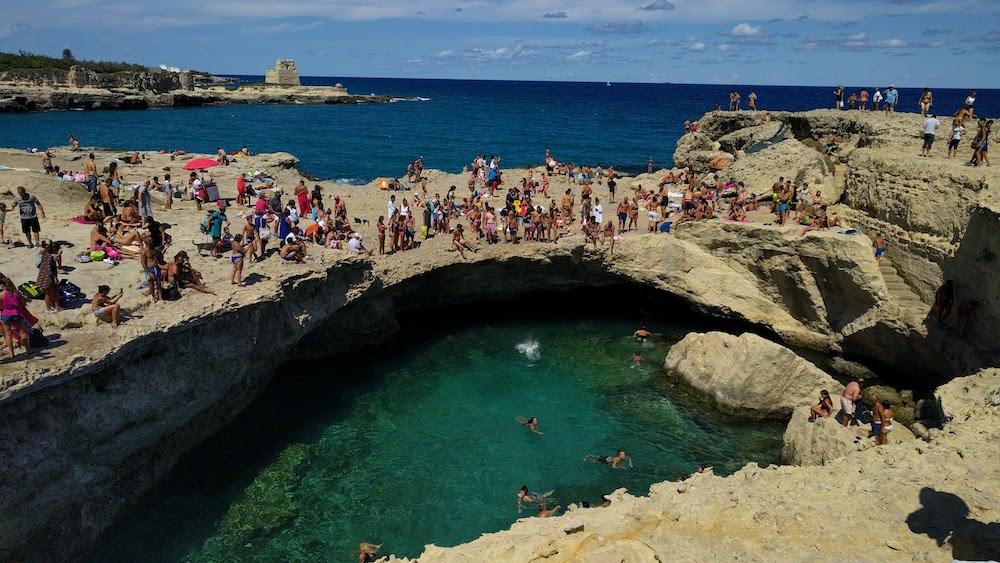 Plaże Apulii - Grotta della Poesia