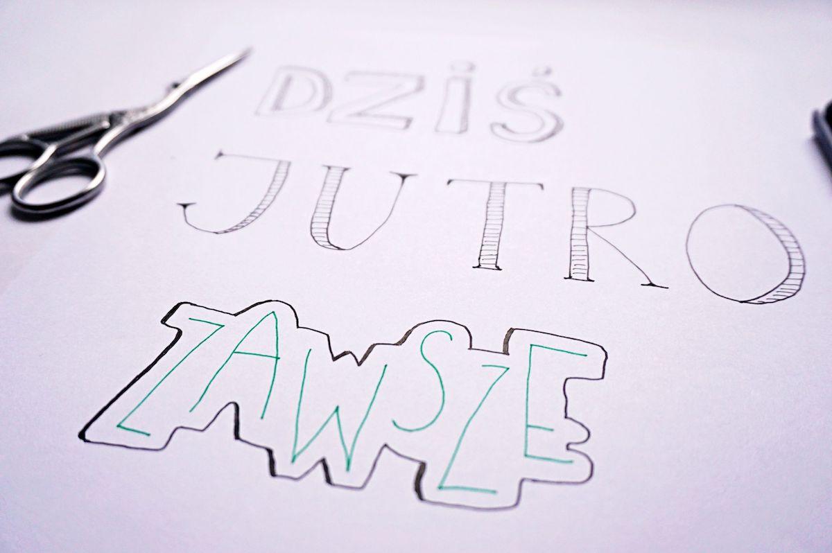 Pomysły na ozdabianie liter Hand lettering