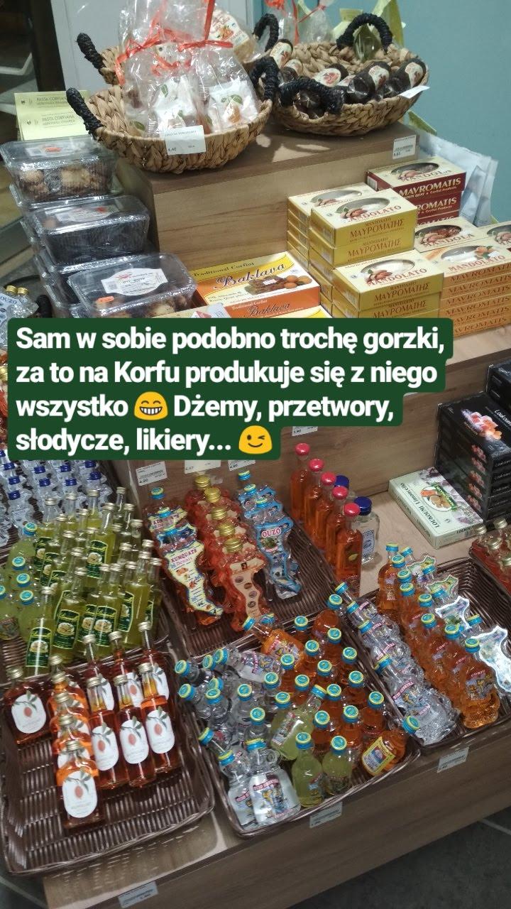Korfu 2018 - informacje, ciekawostki, transport - przetwory z kumkwatu