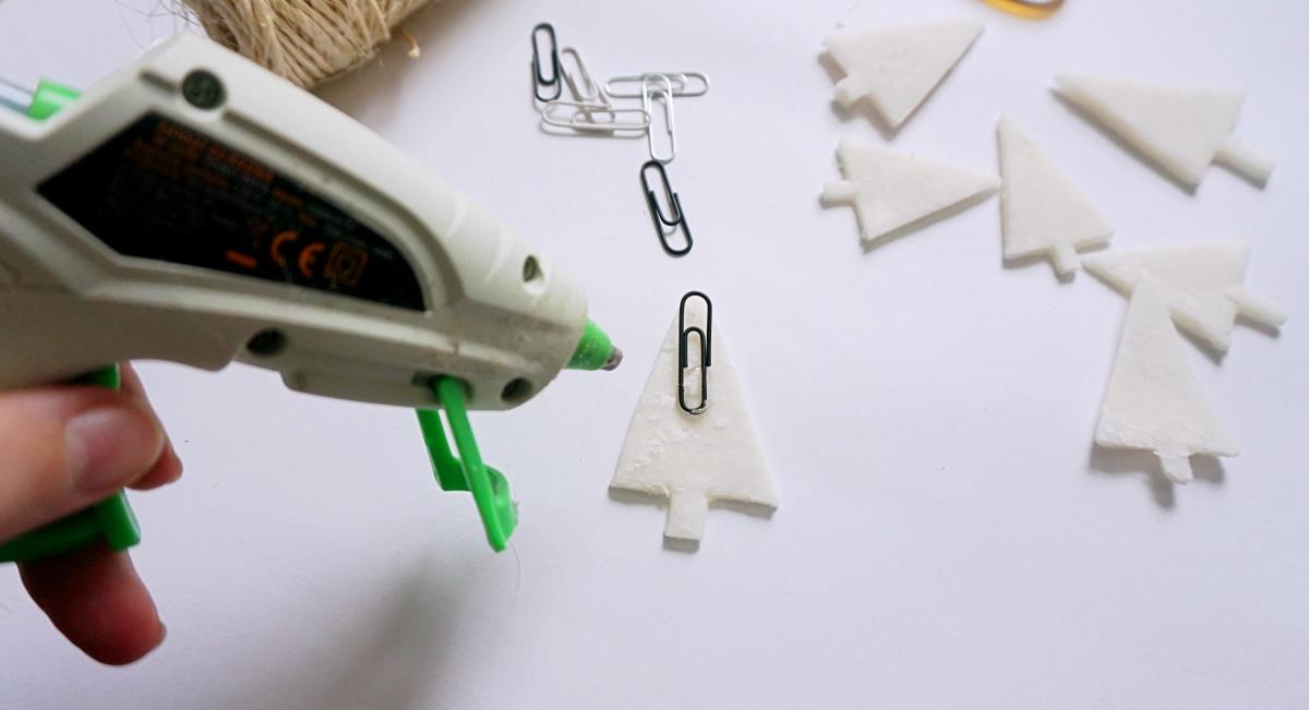 DIY Minimalistyczne ozdoby na choinkę