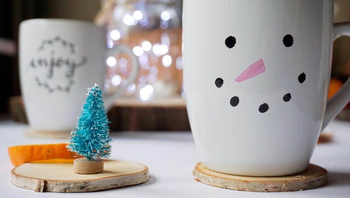 DIY Pomysł na prezent - własnoręcznie zdobiony kubek