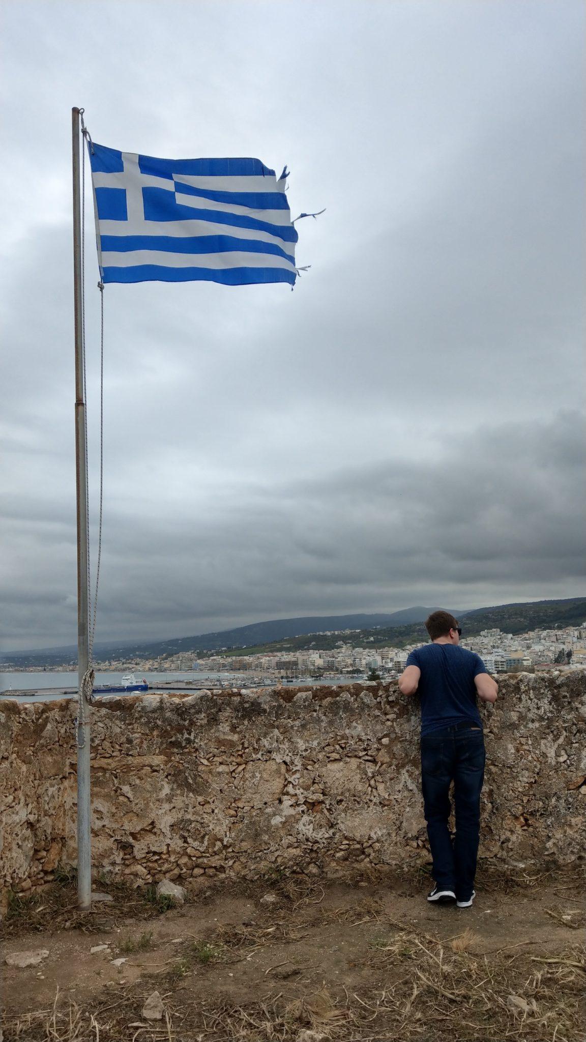 DIY Kreta poza sezonem - Fortezza Castle Retimno (Rethymno)