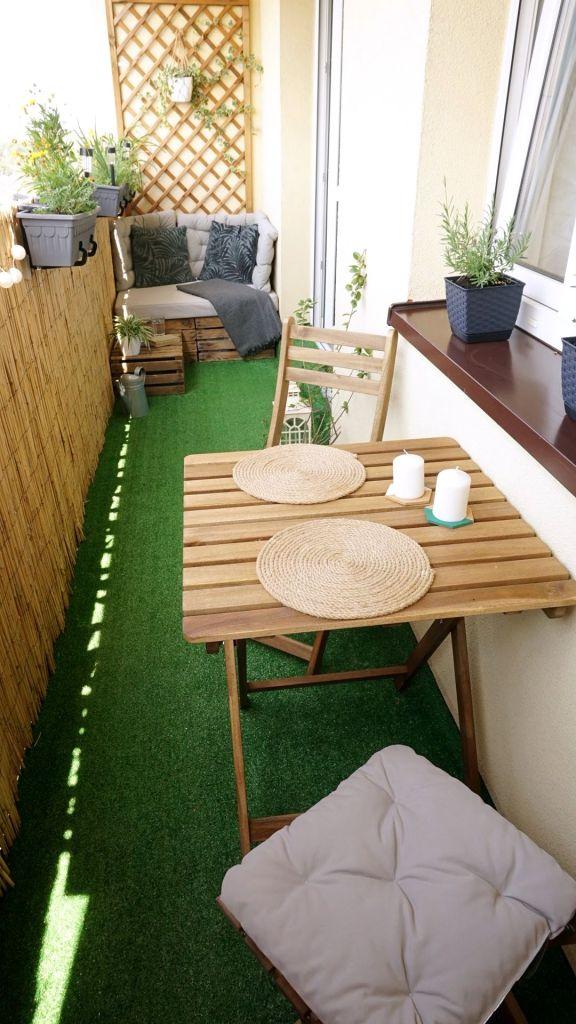 Miejsce do siedzenia na balkonie