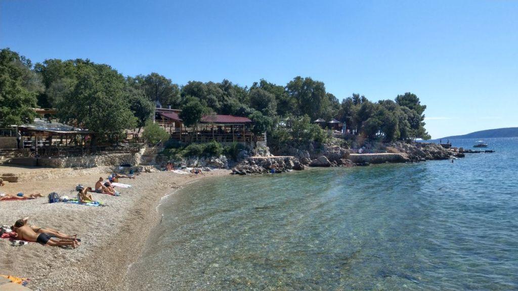 Plaża Jert, Krk