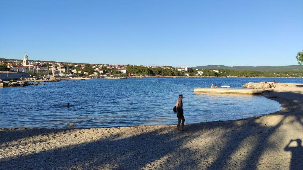 Plaża Porporela w Krk