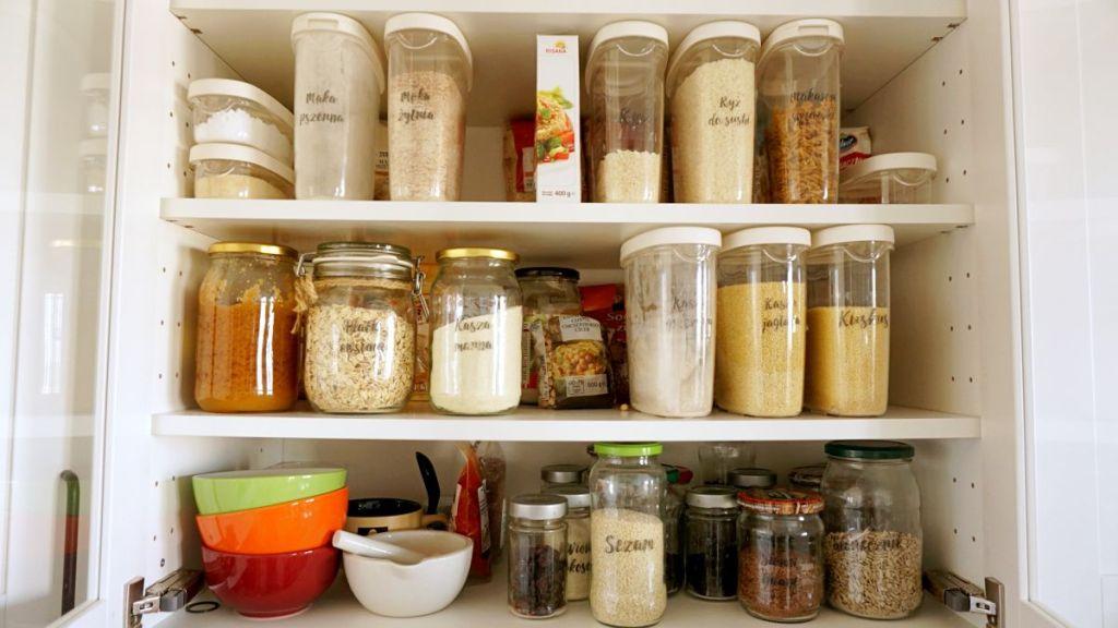 DIY Samoprzylepne etykiety kuchenne - porządek w kuchni